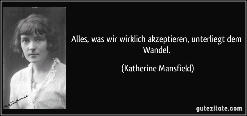 Zitate Wandel