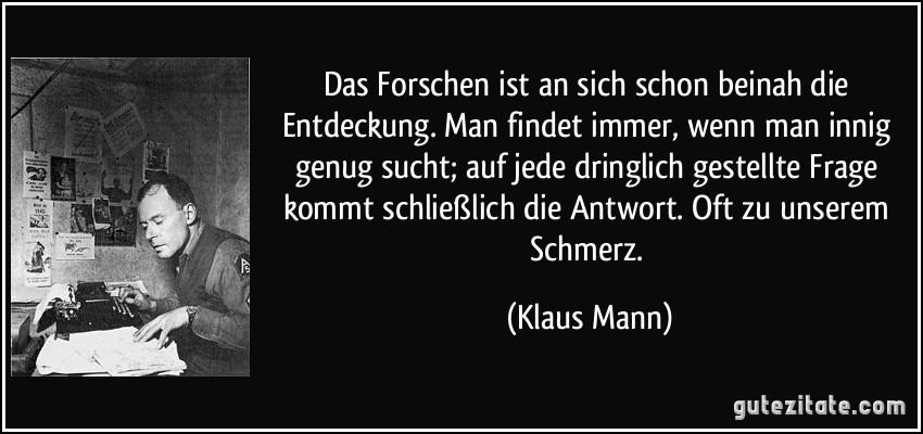 Klaus Mann zitate