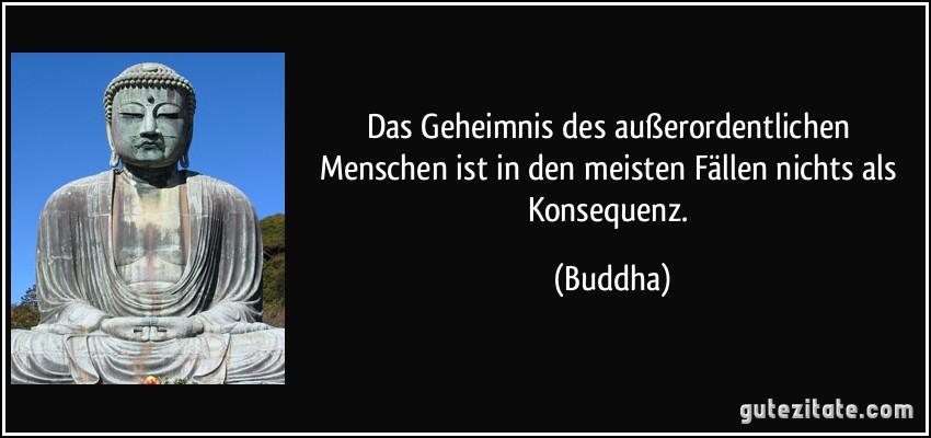 Buddha Zitate Konsequenz