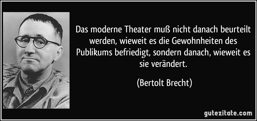 bertolt brecht essay Bertolt brecht bertolt brecht born eugen berthold friedrich brecht february 10, 1898 august 14, 1956 was a german poet, playwright, and theatre director.