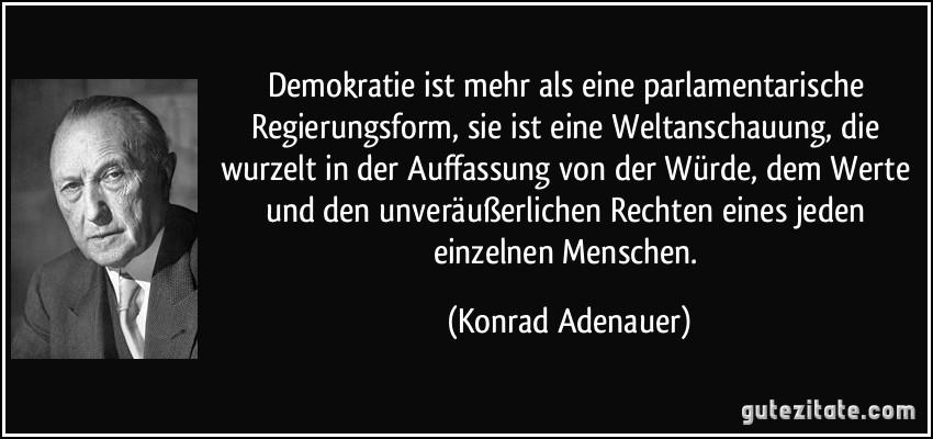 Demokratie Ist Mehr Als Eine Parlamentarische Regierungsform
