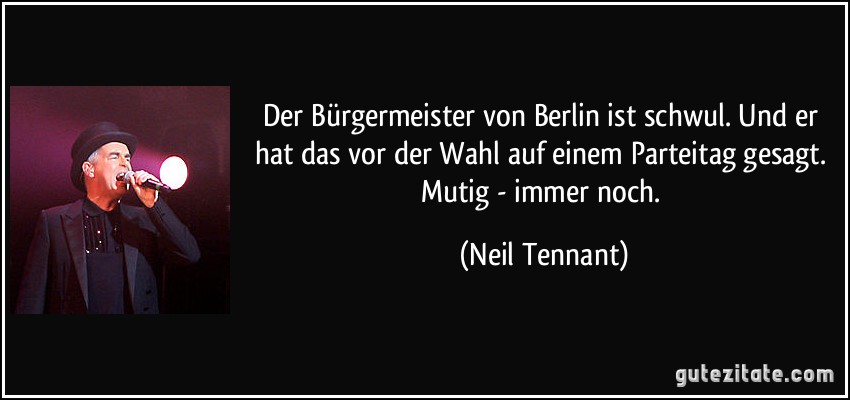 Berlin Bürgermeister Schwul