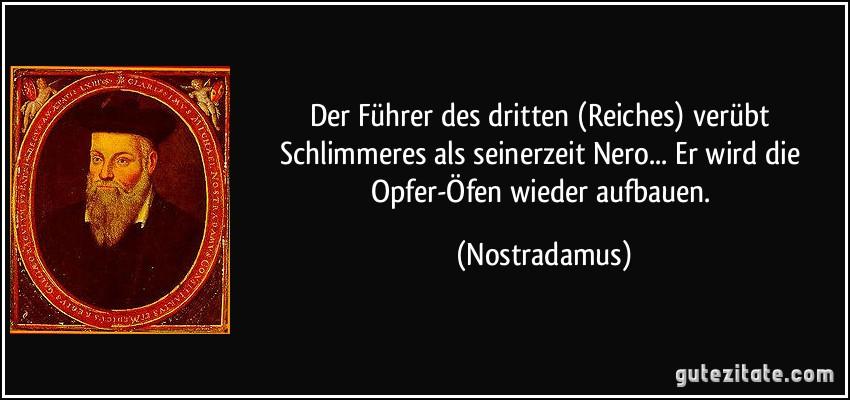 Nostradamus Zitate