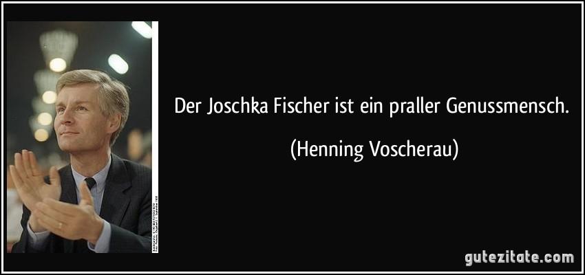 Wie Alt Ist Joschka Fischer