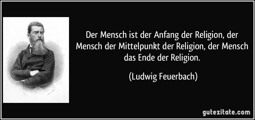 Feuerbach Zitate