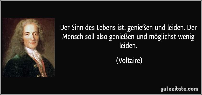 Voltaire Zitate Tod Zitate Vom Leben