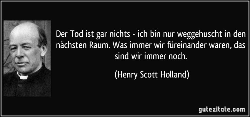 Henry Scott Der Tod bedeutet gar nichts Holland