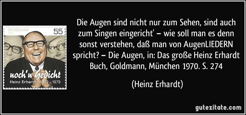 Zitate Freundschaft Heinz Erhardt | zitate aus dem leben