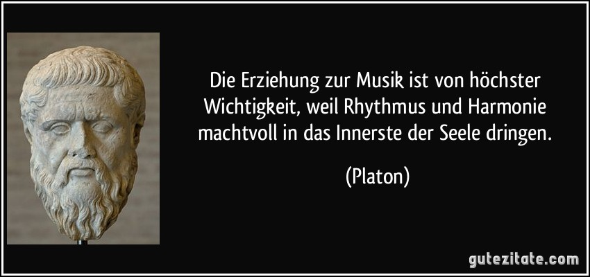 musik zitate platon top weisheiten spr che und zitate. Black Bedroom Furniture Sets. Home Design Ideas