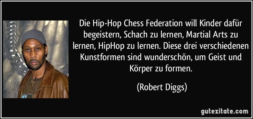 Die Hip Hop Chess Federation will Kinder dafür begeistern