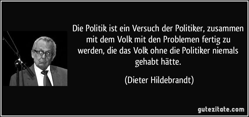 Politiker Zitate