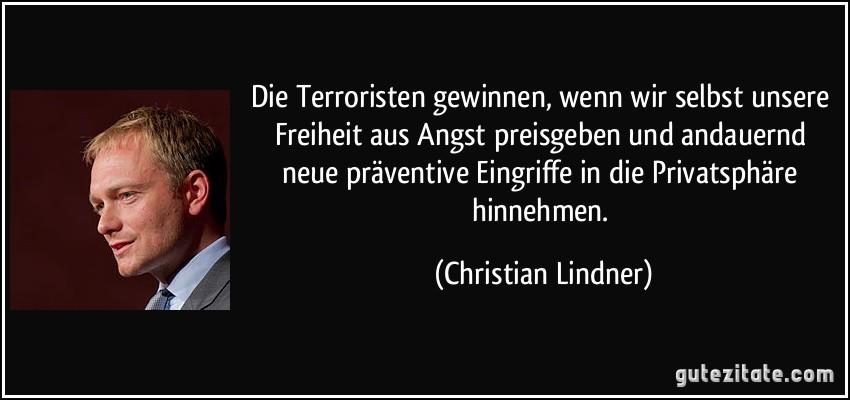 Zitate Terrorismus