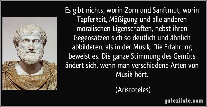 Zitate Aristoteles Musik Zitate Und Sprüche Weisheiten