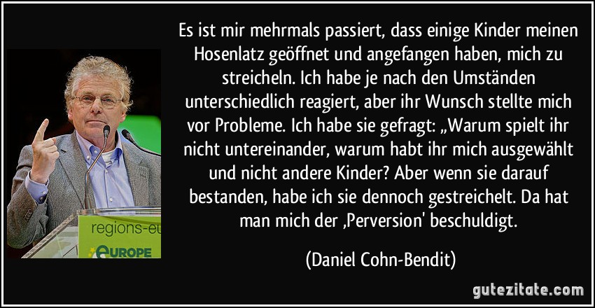 Cohn Bendit Zitate