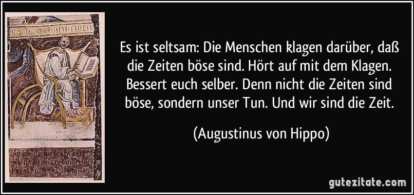 Augustinus Von Hippo Zitate Latein