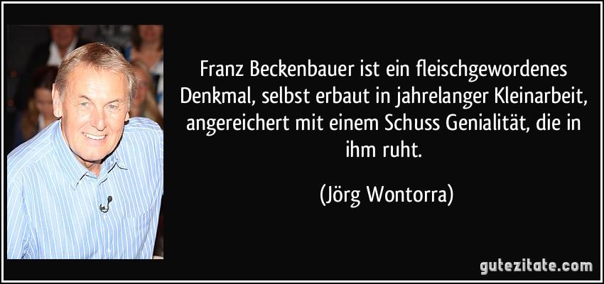 Franz Beckenbauer Zitate