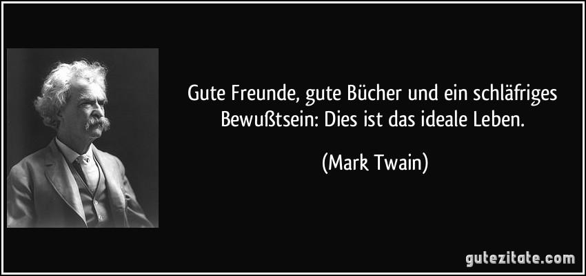 Mark Twain Zitate Buch Sprüche Und Zitate Leben