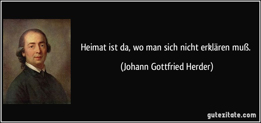 Johann Gottfried Herder zitate
