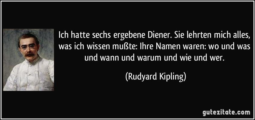 Rudyard Kipling zitate