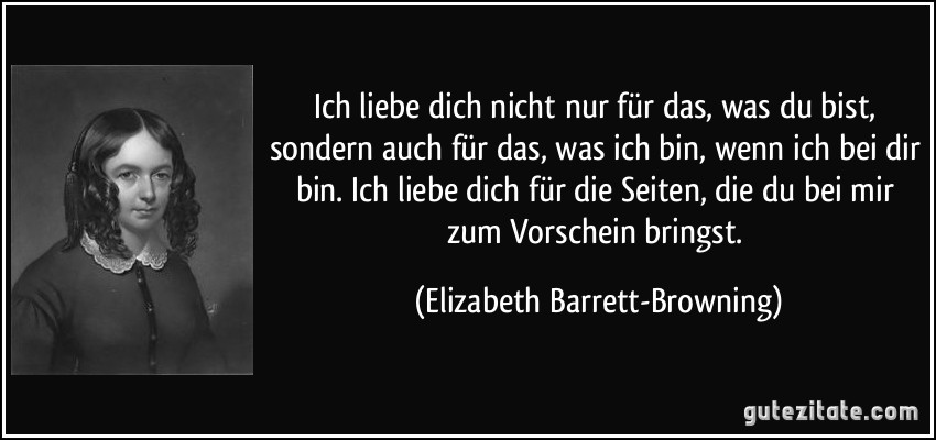 Elizabeth Barrett browning zitate