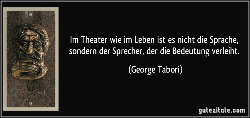 Zitate Sprüche Theater | tolle zitate leben
