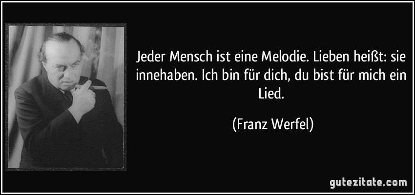 Franz Werfel der gute mensch
