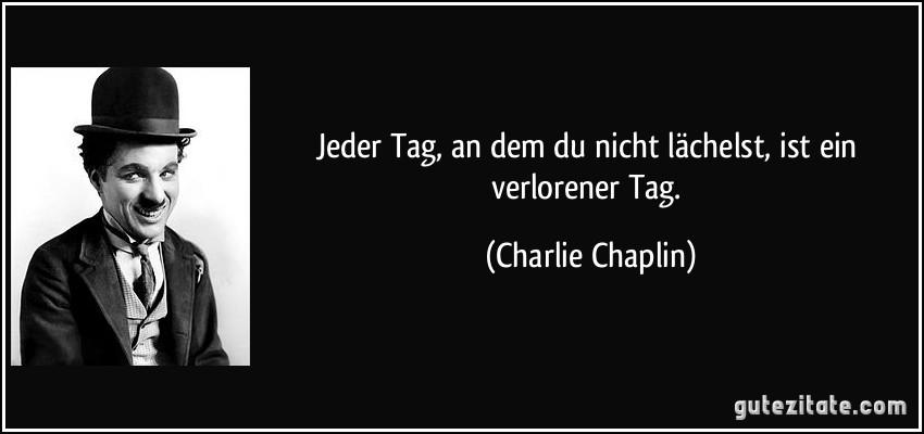 Jeder tag an dem du nicht l chelst ist ein verlorener tag - Charlie brown zitate ...