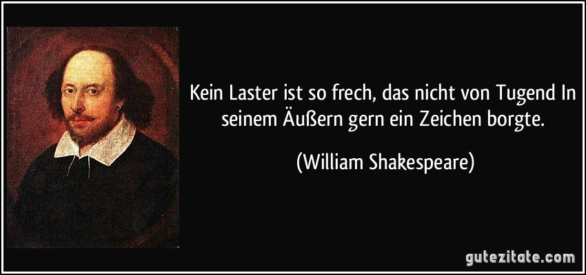 Shakespeare Zitate Tugend Leben Zitate