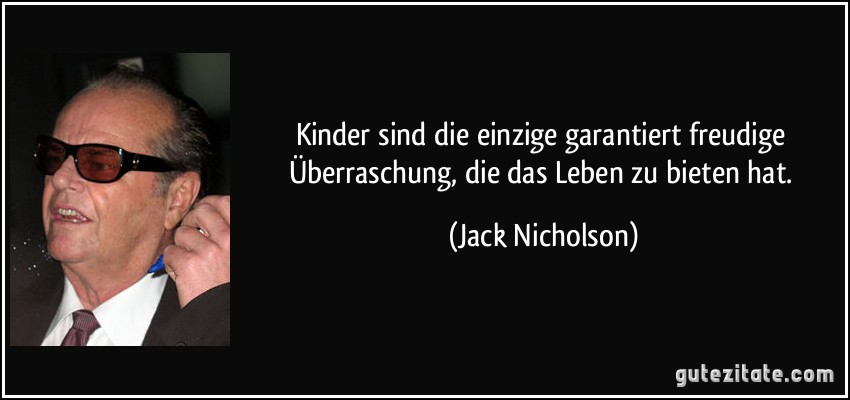 Jack Nicholson Kinder