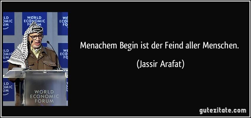 Menachem Begin Zitate