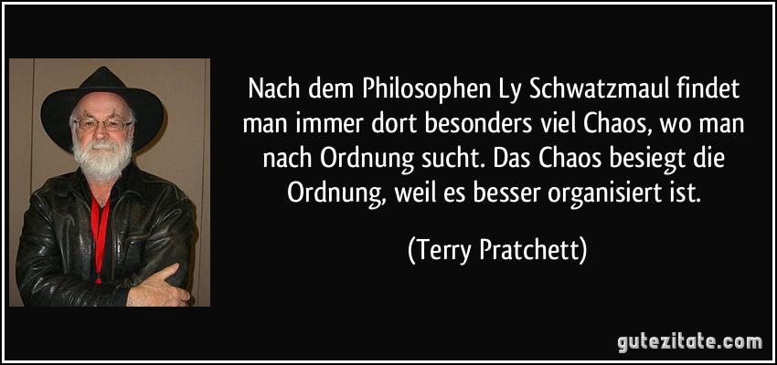 Nach Dem Philosophen Ly Schwatzmaul Findet Man Immer Dort