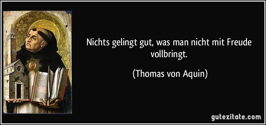 Thomas Von Aquin Zitate