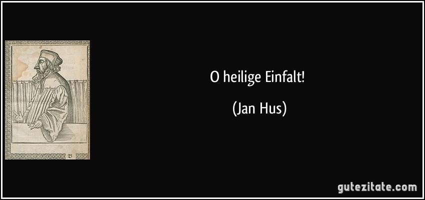 Jan Hus Zitate
