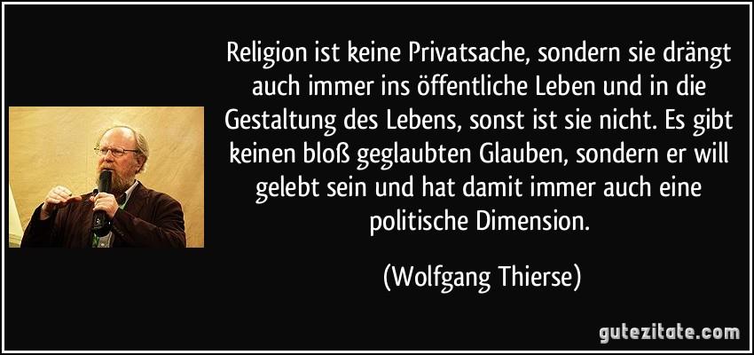 Religion Ist Privatsache Zitat Deliriumfatalis
