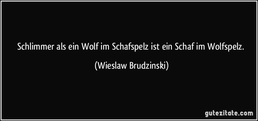 Schlimmer Als Ein Wolf Im Schafspelz Ist Ein Schaf Im Wolfspelz