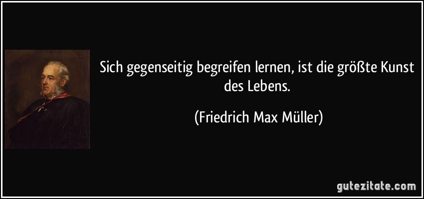 Zitat von Friedrich Max Müller