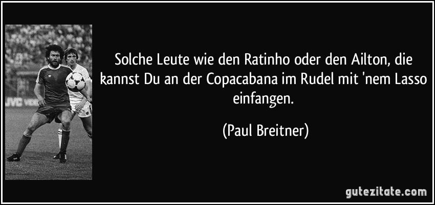 Paul Breitner Zitate