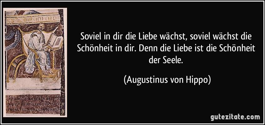 Mehr Zitate Von Augustinus Von Hippo