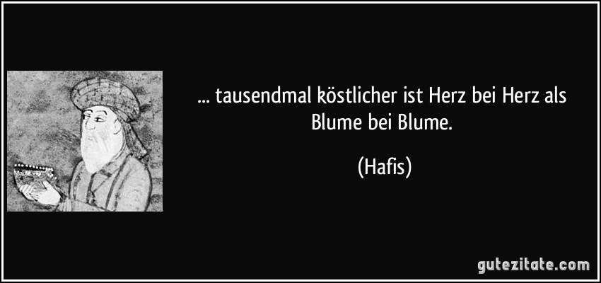 Hafiz Zitate Deutsch