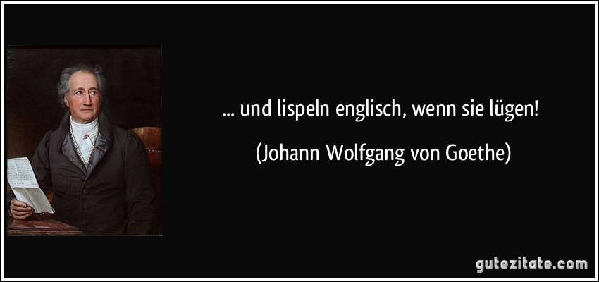 Goethe Zitate In Englisch Zitate Leben