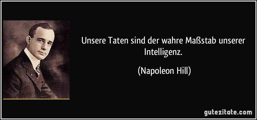 Napoleon Zitate
