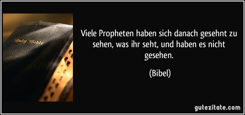 Propheten Bibel