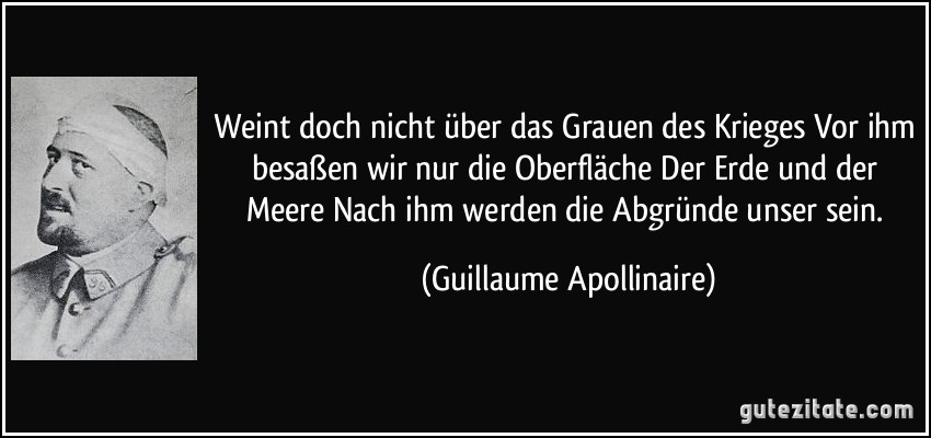 Guillaume Apollinaire zitate