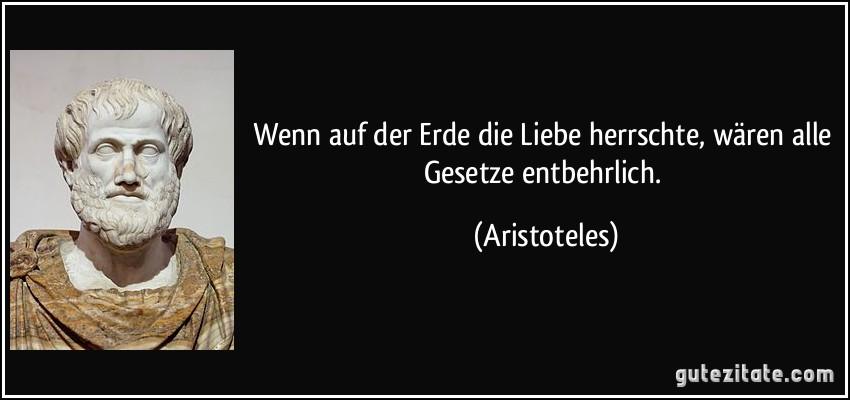 Bildergebnis für aristoteles liebe gesetz