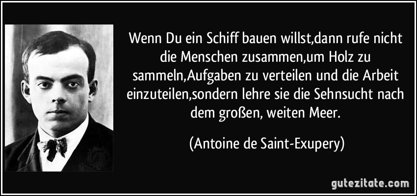 Image Result For Zitate Saint Exupery Schiff