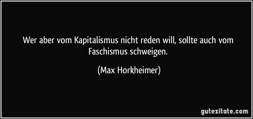 Bildergebnis für horkheimer faschismus schweigen