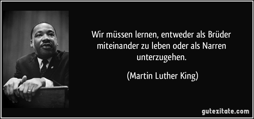 Martin Luther King Jr Zitate